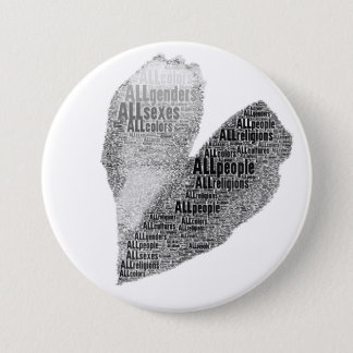 All People Heart BW Button