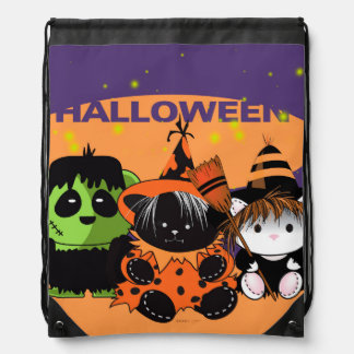 ALL PETS MONSTERS  Drawstring Backpack