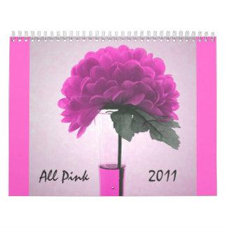 All pink 2011 Calendar