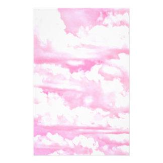 All Pink Festive Cloudy Decor Flyer