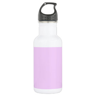 All Pink Nothing But Color Pink Light Pink 18oz Water Bottle