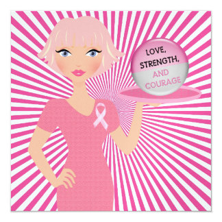 All Pink - Serving Love, Strength, and Courage Card