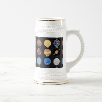 All Planets Science Photos With Names Beer Stein
