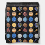 All Planets Science Photos With Names Cinch Bags