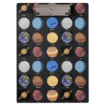 All Planets Science Photos With Names Clipboard