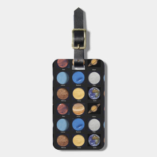 All Planets Science Photos With Names Bag Tags