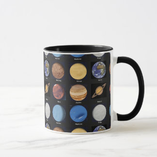 All Planets Science Photos With Names Mug