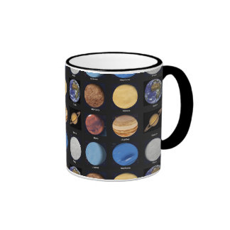 All Planets Science Photos With Names Coffee Mugs