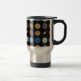 All Planets Science Photos With Names Coffee Mug
