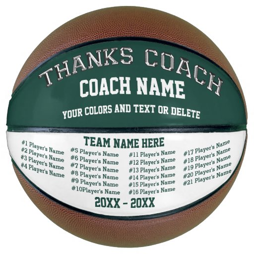 Personalized Fullsize Basketball