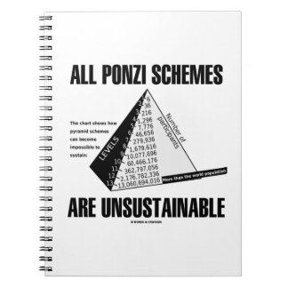 All Ponzi Schemes Are Unsustainable (Econ Humor) Notebook
