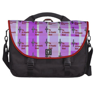 All-Powerful Blood (crosses) Commuter Bags