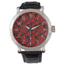 All-Powerful Blood Pattern Wristwatches