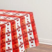 All-Powerful Blood Striped Tablecloth