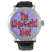All-Powerful Blood Wrist Watch