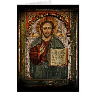 All Powerful Christ - Chrystus Pantokrator Card