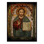 All Powerful Christ - Chrystus Pantokrator Post Card