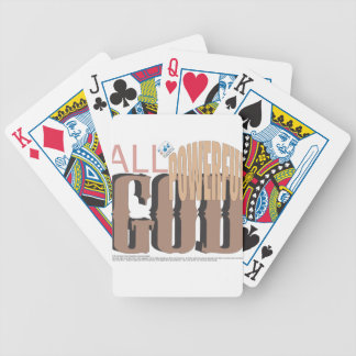 All-Powerful GOD Bicycle Playing Cards