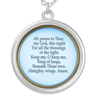 All Praise Prayer Necklace