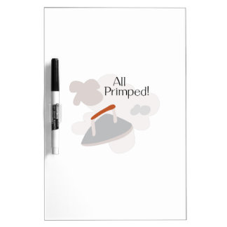 All Primped Dry Erase Whiteboards