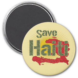 ALL Proceeds go to RED CROSS - Save Haiti Fridge Magnet