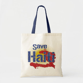 ALL Proceeds go to RED CROSS - Save Haiti Tote Bag
