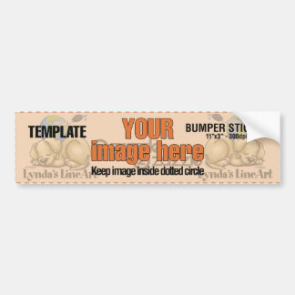 All Product TEMPLATES - NO Cards Bumper Sticker