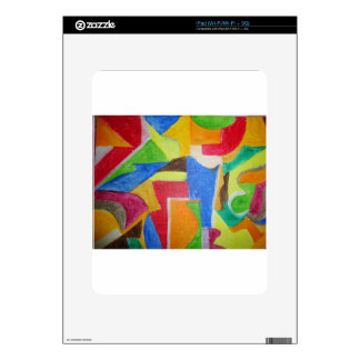 all products sporting vibrant geometric designs skin for iPad