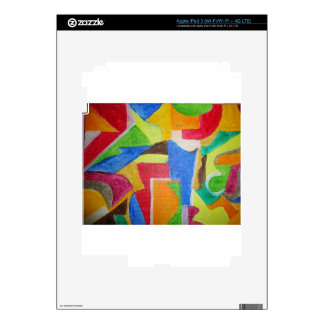 all products sporting vibrant geometric designs decal for iPad 3