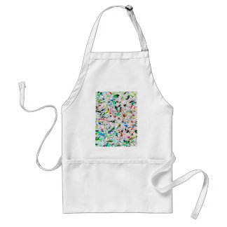 All products with an abstract design adult apron