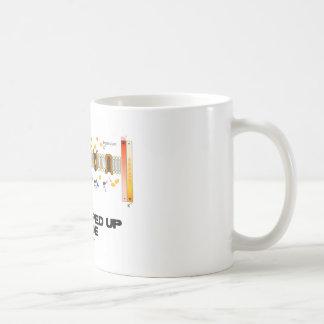 All Pumped Up Inside (Sodium-Potassium Pump) Classic White Coffee Mug