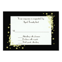 All Purpose Festive RSVP Response Card