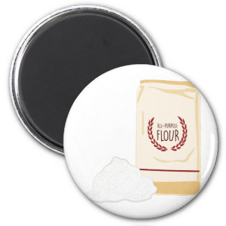 All-Purpose Flour 2 Inch Round Magnet