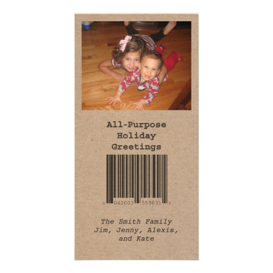 All Purpose Holiday Photo Card