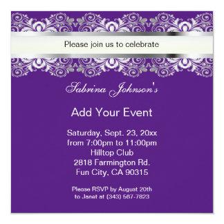 All Purpose Purple Celebration | DIY Text Card
