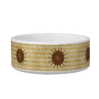 All-Purpose Violin Sunflower Gold-Striped Not Just Bowl