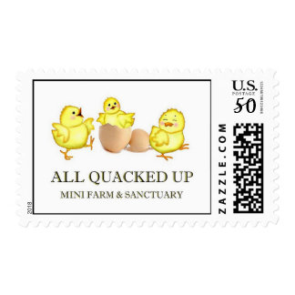 all quacked up postage stamps