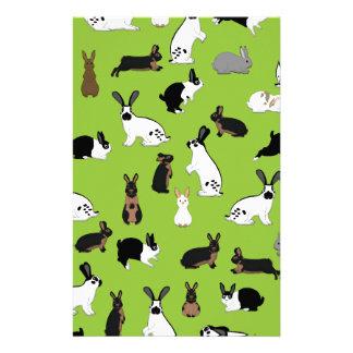 All rabbits stationery