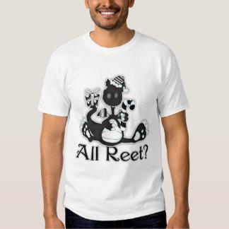 All Reet? Geordie Christmas Dragon T Shirt