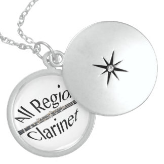 All REGION CLARINET Player Necklace ANY COLOR