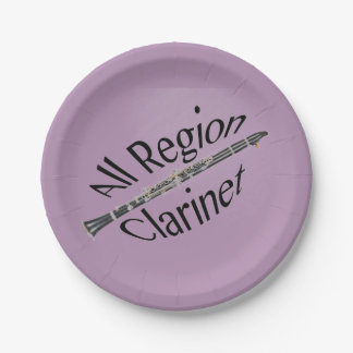 All REGION CLARINET Player Plate ANY COLOR