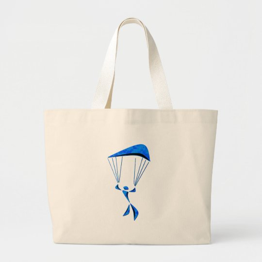 ALL REGIONS SKYDIVING LARGE TOTE BAG