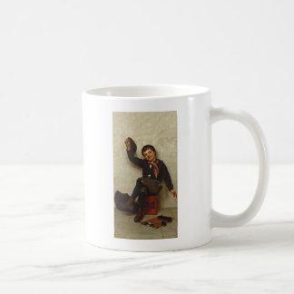 """All Right""  1897 American By John George Brown Coffee Mug"