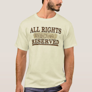 All Rights T-Shirt