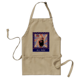 All rise apron