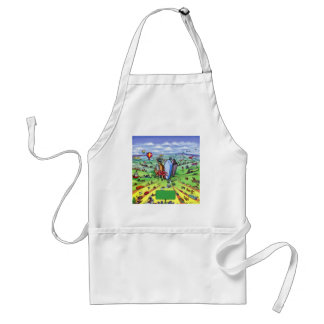 All Roads lead to Dallas Texas Adult Apron