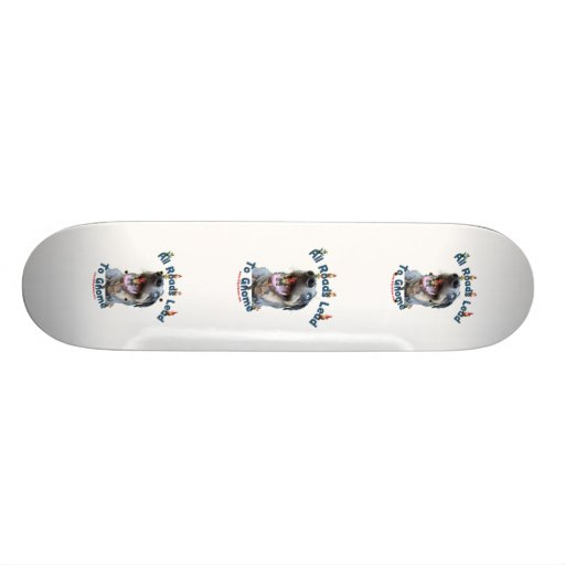 All Roads Lead to Gnome Dog Skateboard