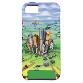All Roads Lead to Houston Texas iPhone SE/5/5s Case