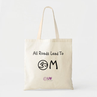 All Roads Lead To OM Tote Budget Tote Bag