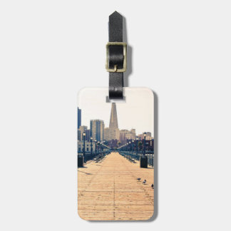 All roads lead to pyramid. luggage tags